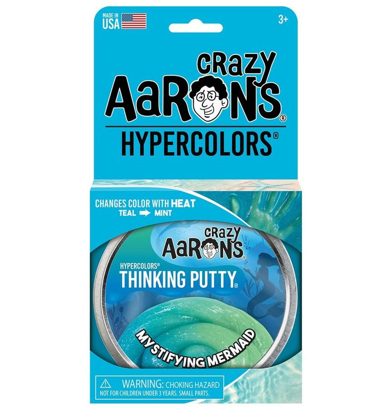 Crazy Aarons Thinking Putty, Mystifying Mermaid