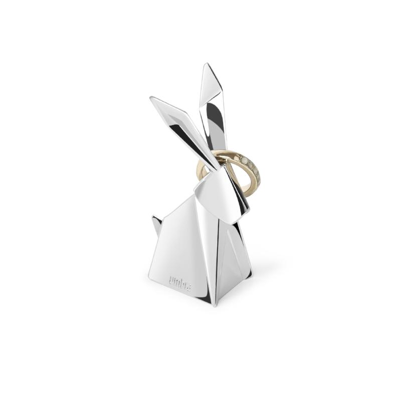 Origami Rabbit Ring Holder