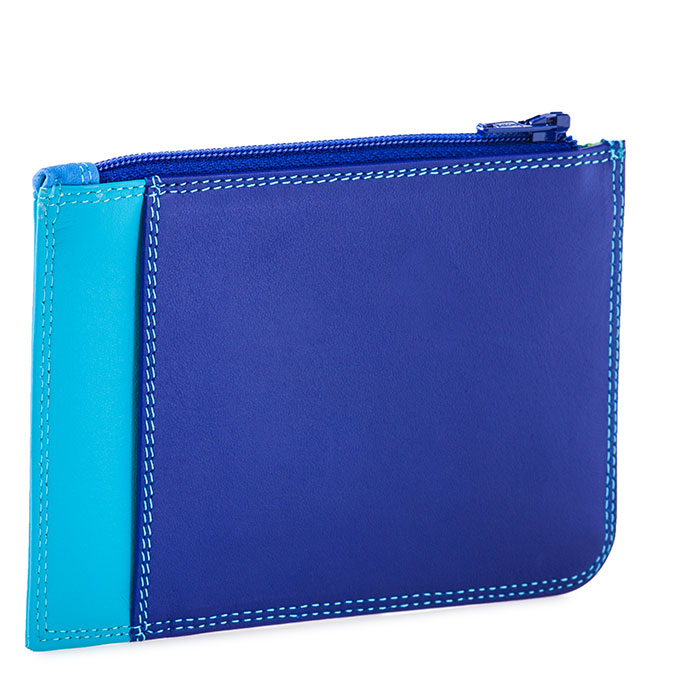 MyWalit Slim Credit Card Holder with Coin Purse, Seascape