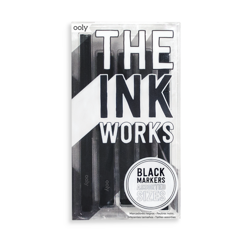 The Ink Works Markers, Set of 5