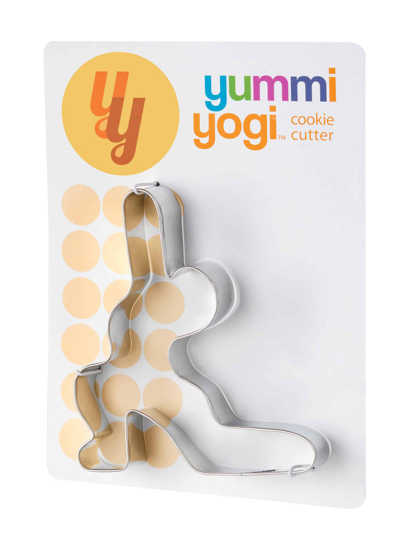 Yummy Yogi, Crescent Lunge Pose Cookie Cutter