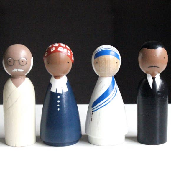 Goose Grease, The Peace Makers Peg Dolls