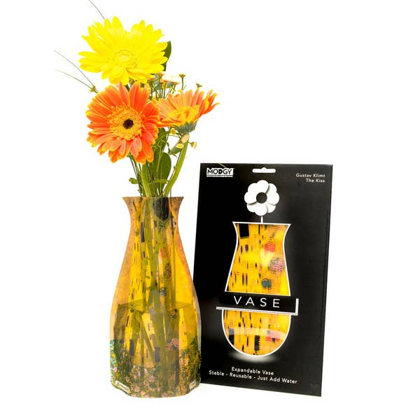 Modgy Expandable Flower Vase, The Kiss