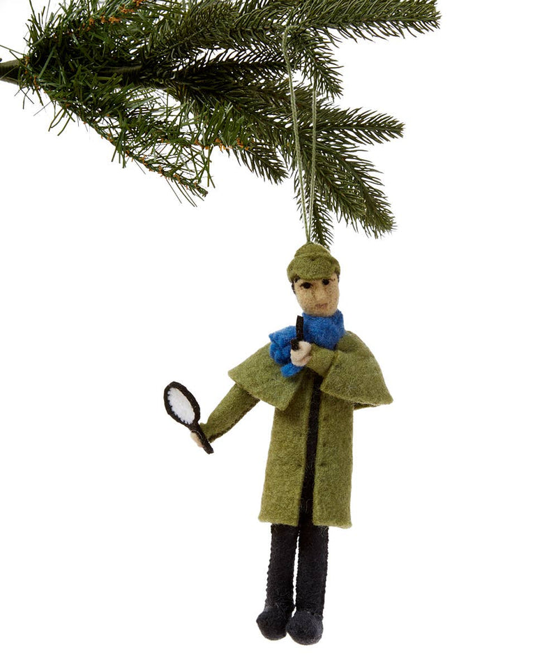 Sherlock Felt Ornament