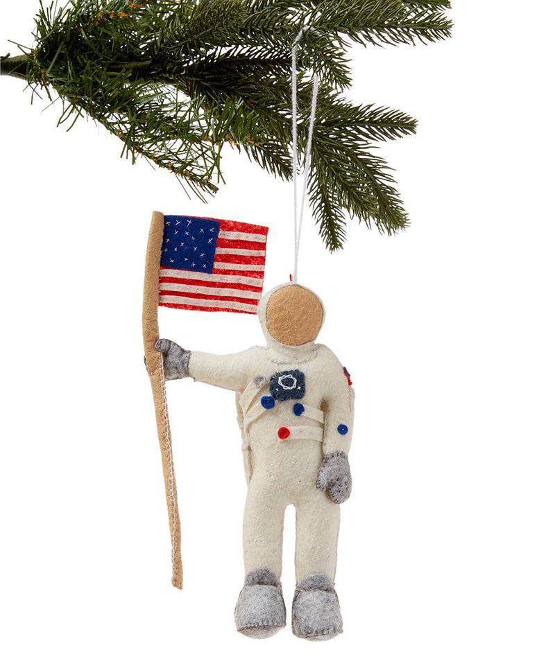 Neil Armstrong Felt Ornament