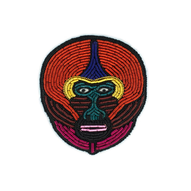 Embroidered Pin: Mandrill