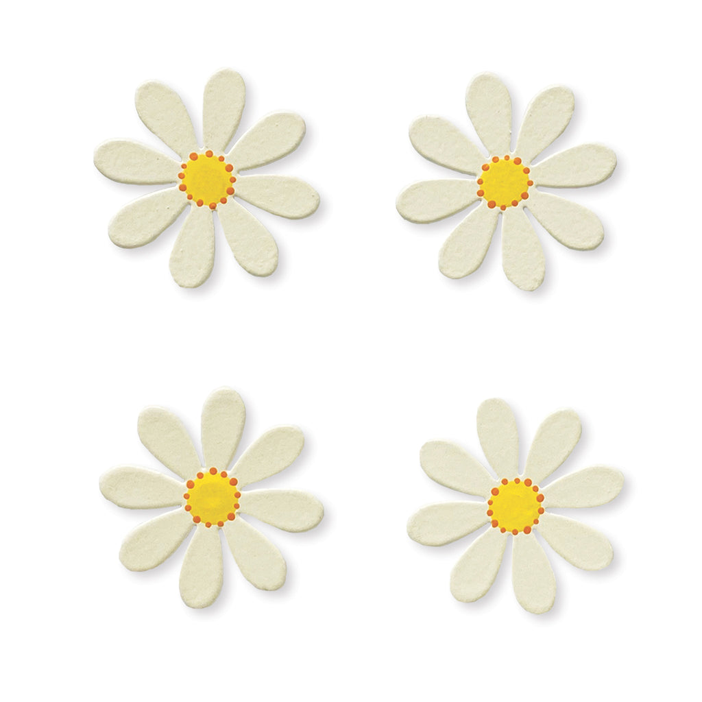 Roeda Studio, Daisy Magnets in White