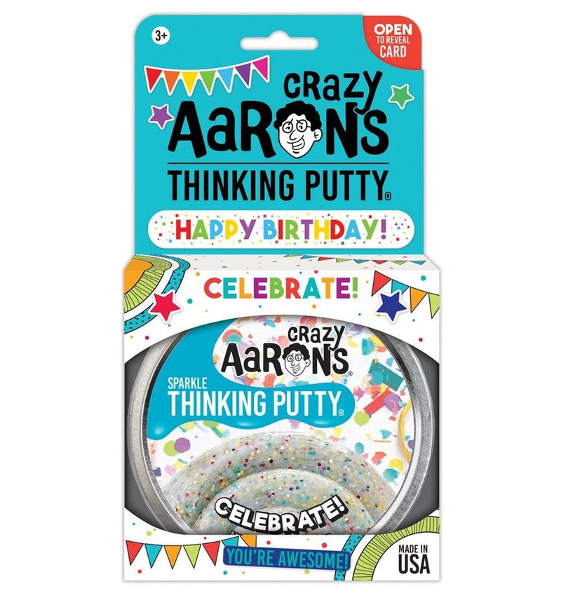 Crazy Aarons Thinking Putty, Celebrate!