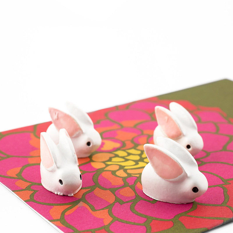 Polyresin Animal Magnets - Bunny