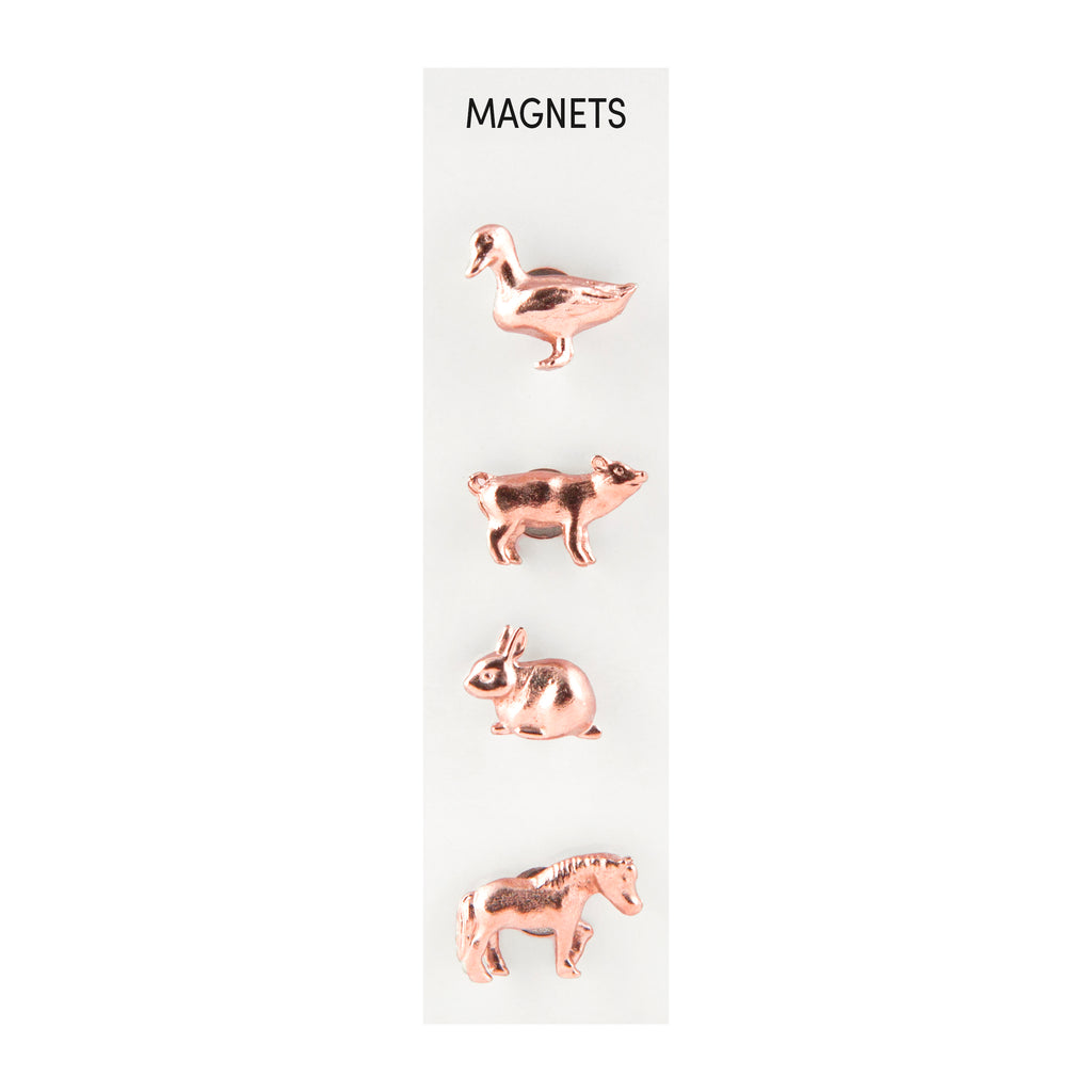 Three by Three, Cast Animal Magnets - Farm