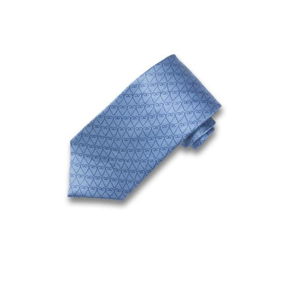 Harshita Designs, Neck Tie, Soft Blue