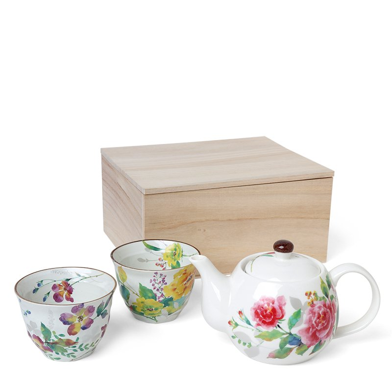 Miya, Spring Floral Tea Set
