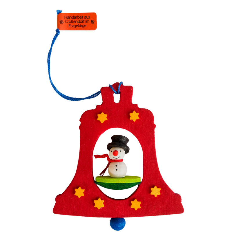 Graupner Bell Ornament  with Snowman
