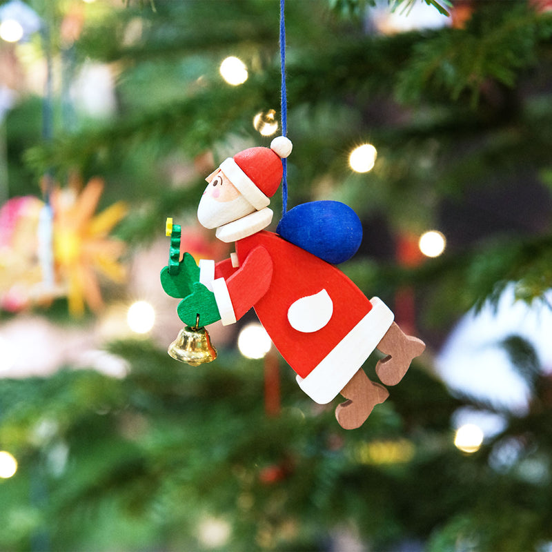 Flying Santa Claus Ornament