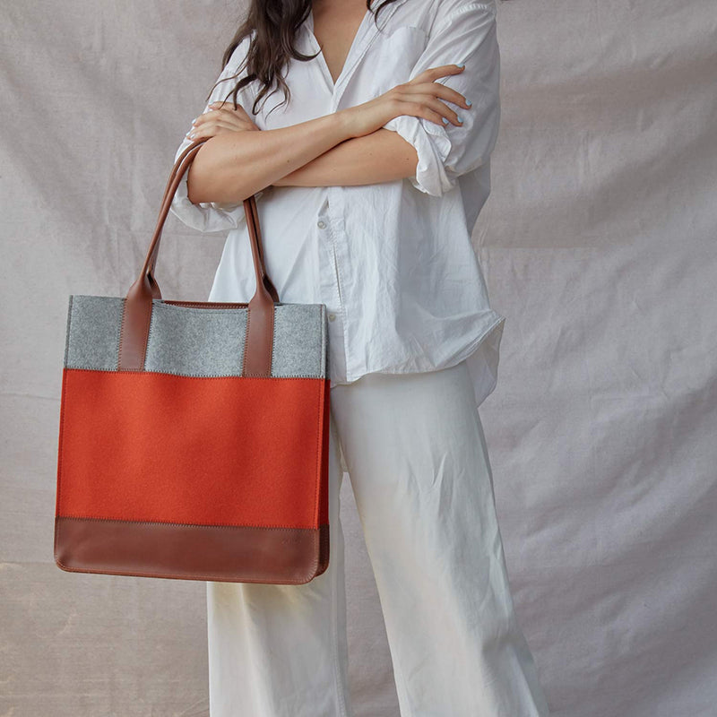 Jaunt Tote, Orange