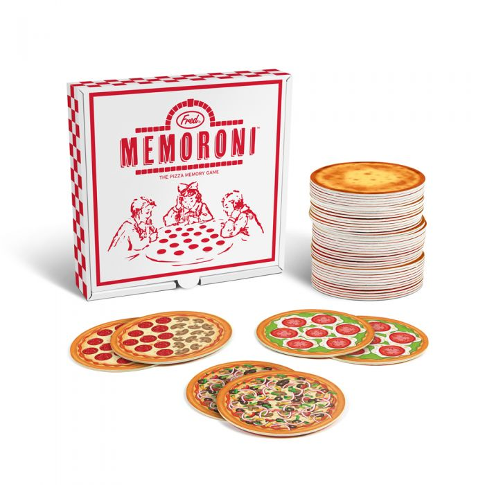 Fred, Memorini, Pizza Memory Game , meomry cards