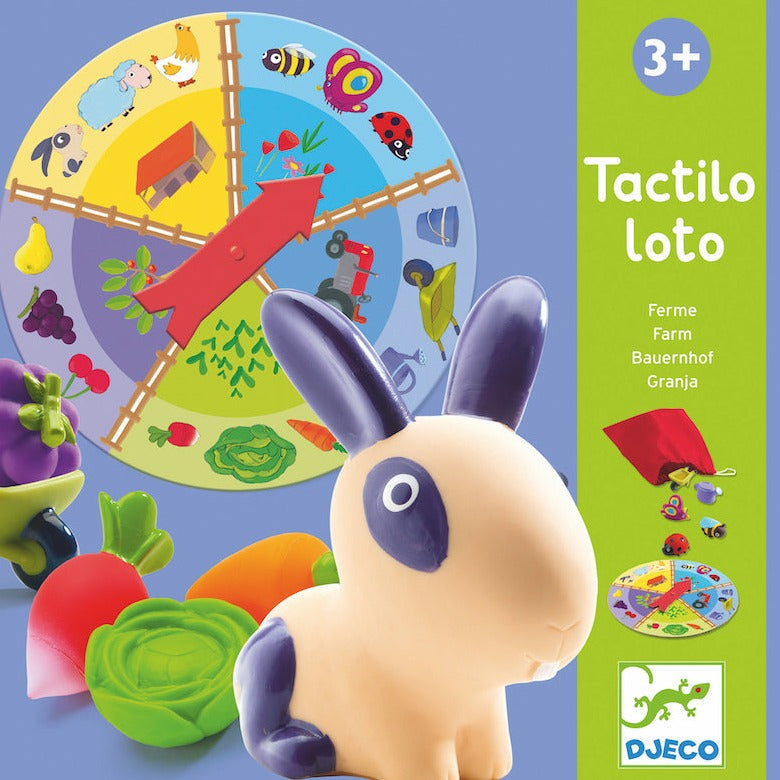 Djeco, First Game Farm Tactilo Loto