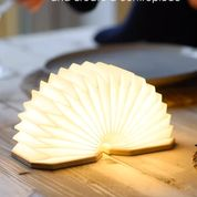 Gingko, Smart Accordion Lamp, Walnut