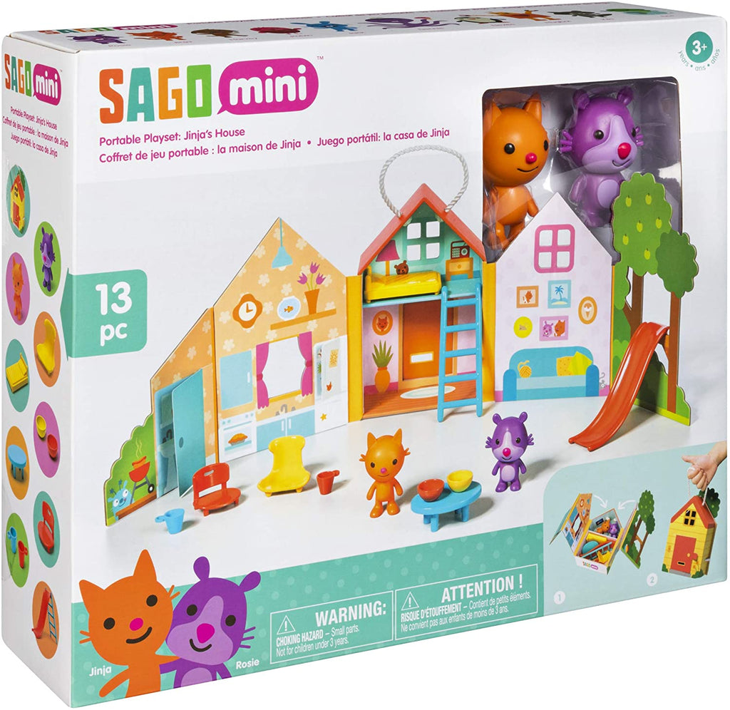 Sago Mini, Jinja's House: Portable Playset