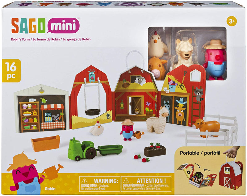 Sago Mini, Robin's Farm: Portable Playset