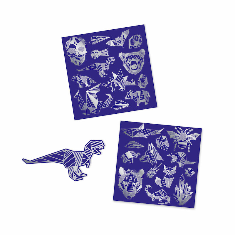 Djeco, Iron Stickers Scratch Cards