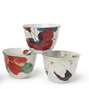 Miya, Floral Teacup Set