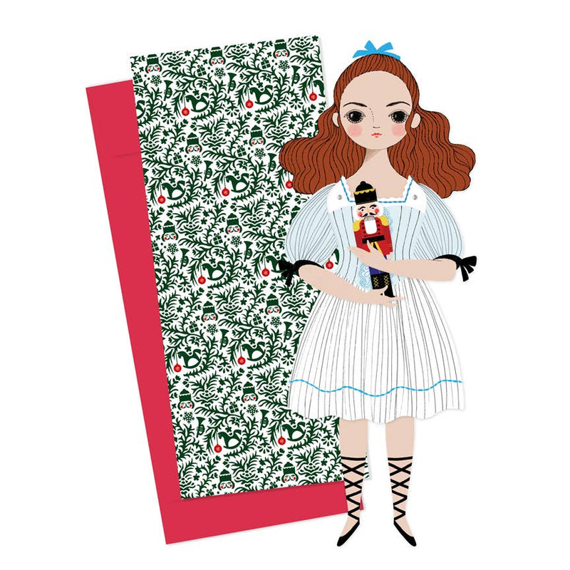 Of Unusual Kind, Paper Doll: Clara w/ Nutcracker