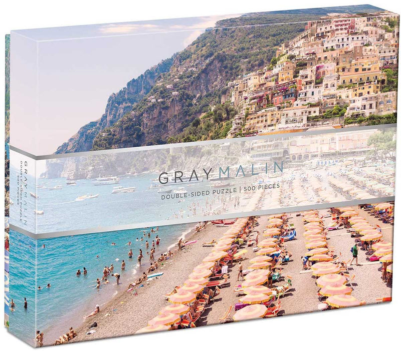 Italy, Gray Malin, 500 Piece Double Sided Puzzle