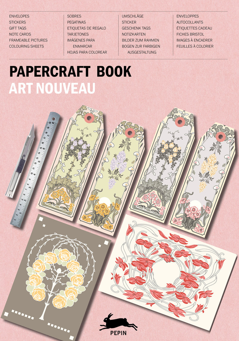 Pepin Press  Art Noveau Papercraft Book