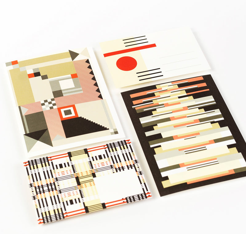 Pepin Press Bauhaus Style Letter Set