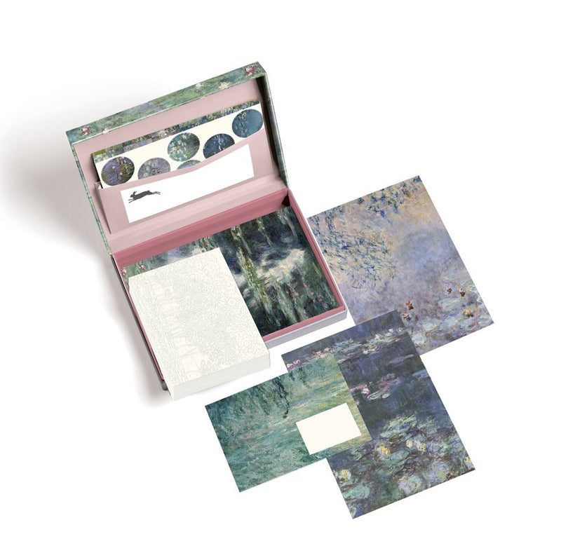 Pepin Press Claude Monet Letter Writing Set