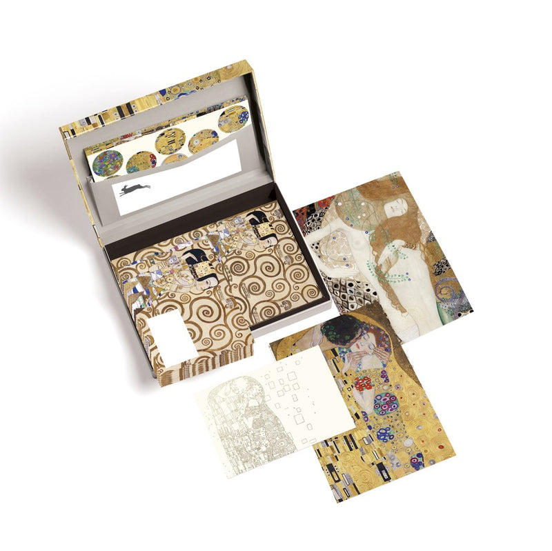 Pepin Press Gustav Klimt Letter Writing Set