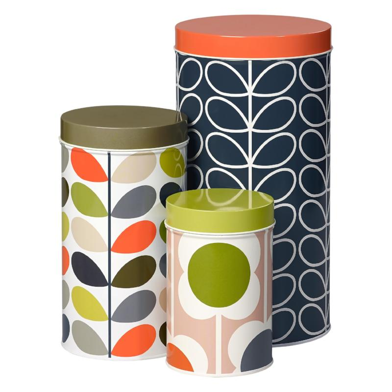 Tin Canisters - Set of 3