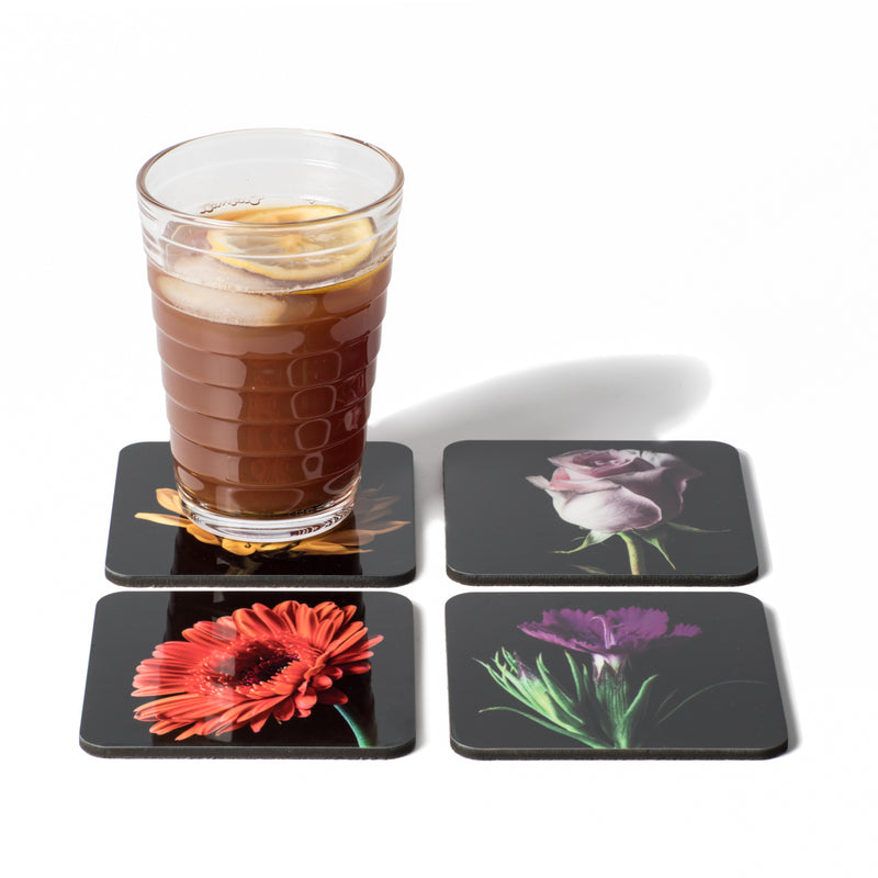 Coasters - Flower Portraits Color