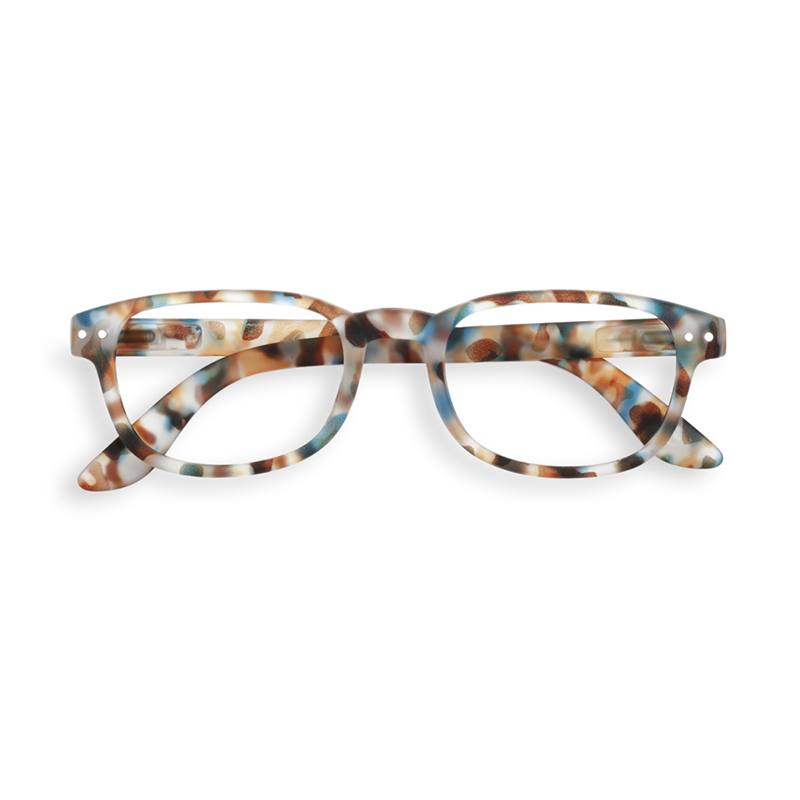 IZIPIZI, Blue Tortoise Reading Glasses