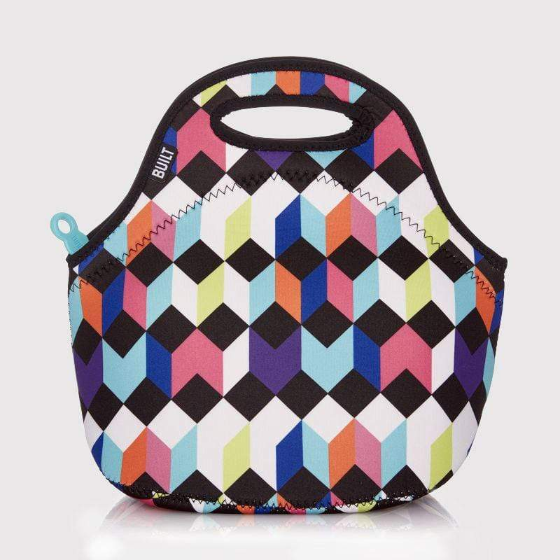 Gourmet Getaway Lunch Tote in Harlequin Geo