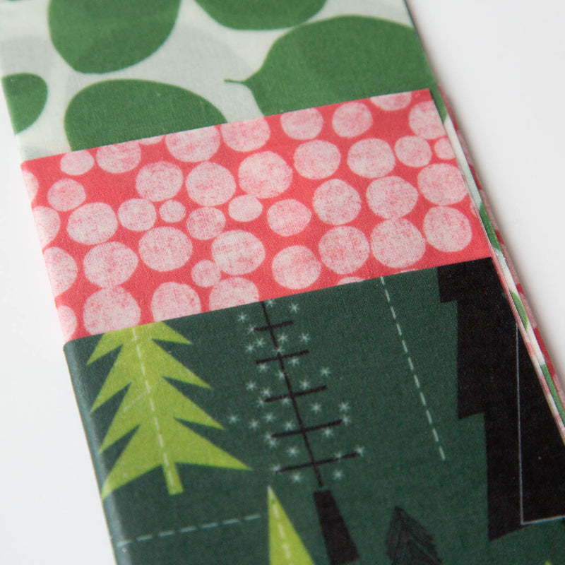 Z Wraps 3 - Pack Trees/Dots/Leafy