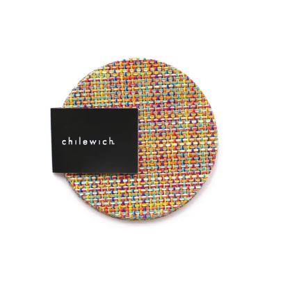 Chilewich, Mini Basketweave Coasters Set of 4