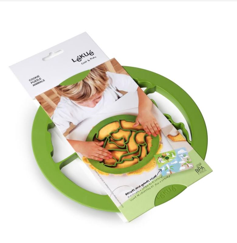 Lekue, Animal Puzzle Cookie Cutters