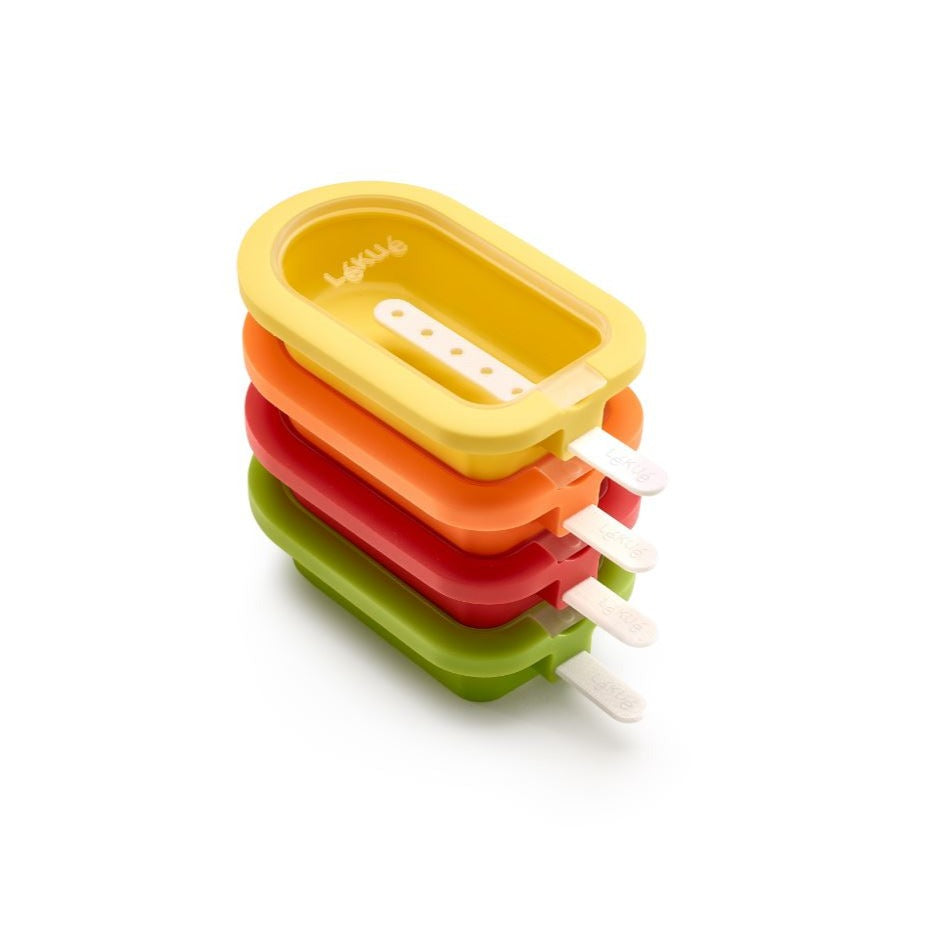 Lekue, Small Stackable Popsicle Mold,  Set Of 4