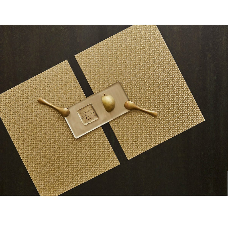 Placemat - Origami Rectangle in Honey