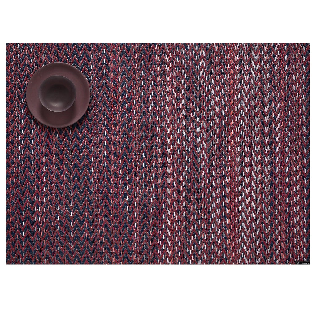Chilewich, Placemat - Quill Rectangle in Mulberry