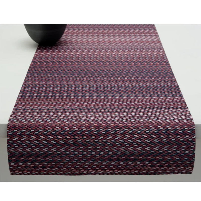 Chilewich, Table Runner - Quill in Mulberry