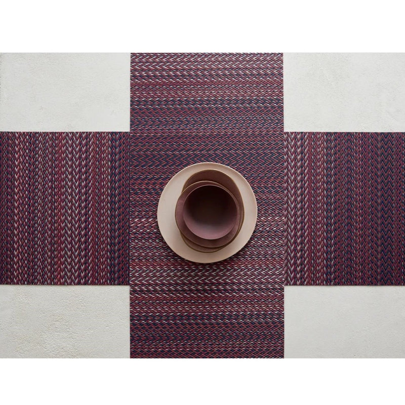 Table Runner - Quill in Mulberry