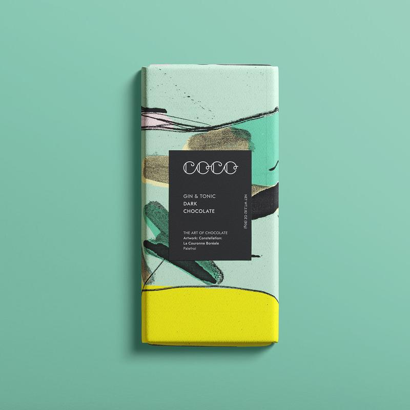 Gin & Tonic Dark Chocolate Bar