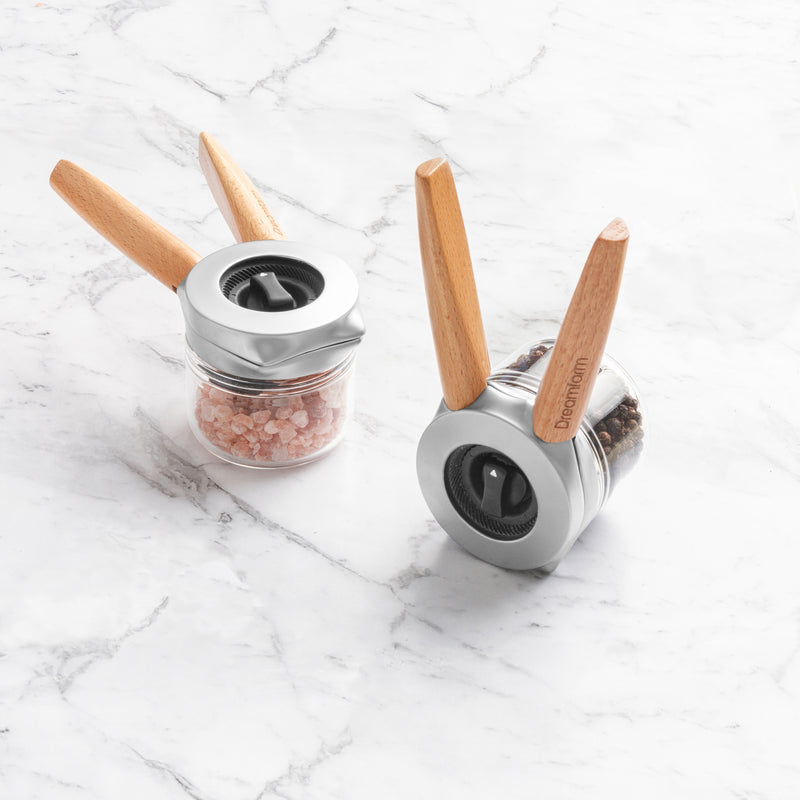 Dreamfarm, Ortwo One-handed Pepper Mill Set