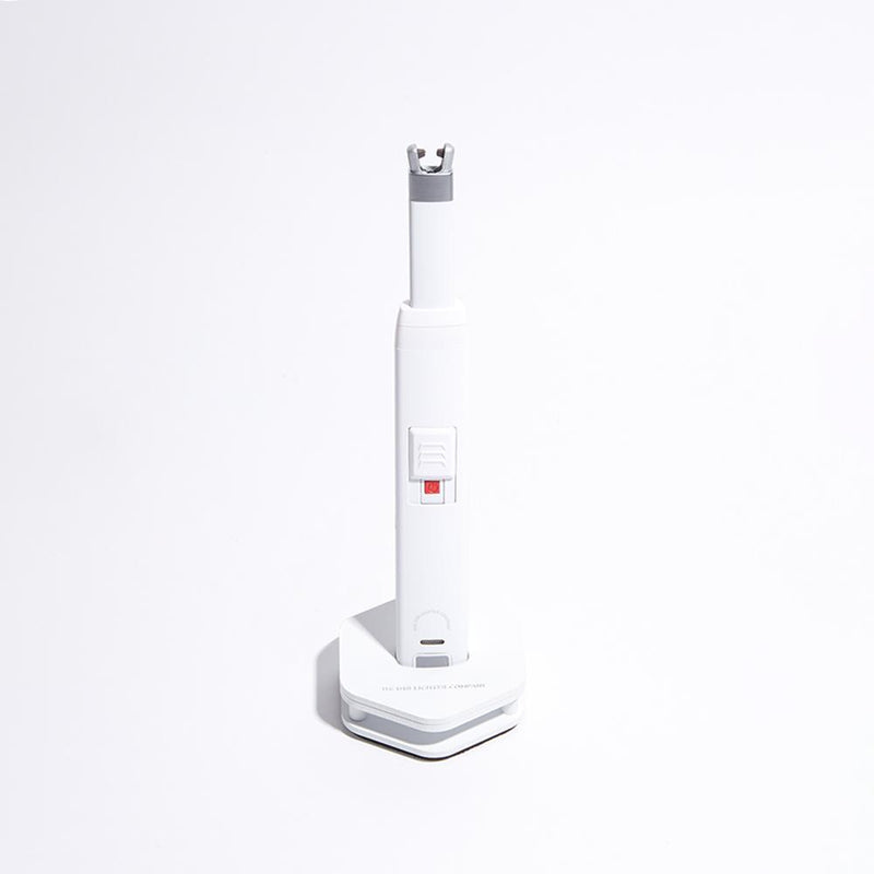USB Rechargeable Candle Lighter, Matte White