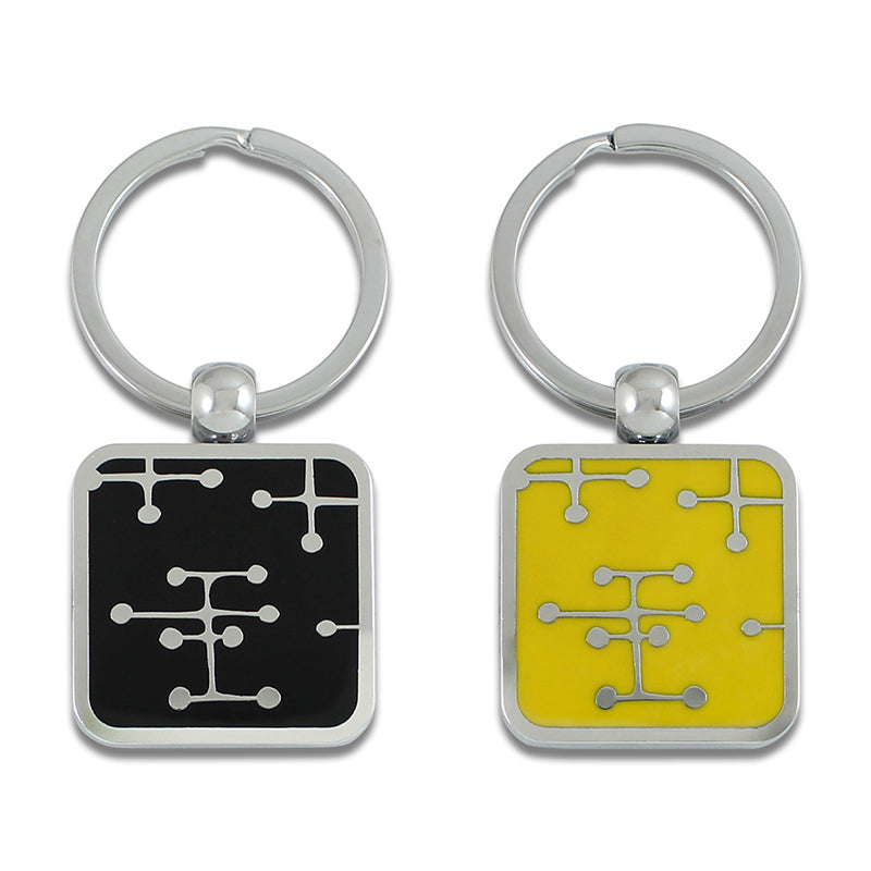 """Dots"" Keyring by Charles & Ray Eames"