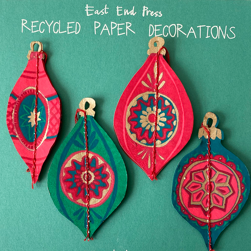 Bauble Paper Decorations