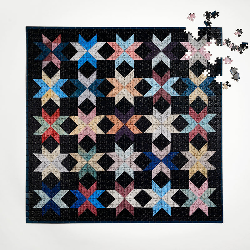 Four Point Puzzles, New York Quilt Puzzle